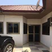 2 MASTER BEDROOM HOUSE (SELF COMPOUND) AT KWABENYA