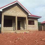 uncompleted 3 bedroom + land title for sale@Oyibi