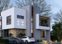 Luxurious 4 bedrooms houses for sale at East Legon