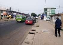 Roadside land for sale at Korlebu-Accra