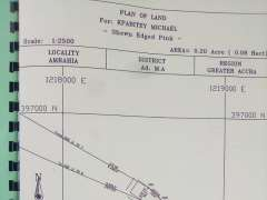 1Plot of Land walled For sale at Amrahia
