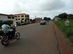 6Plots of Roadside land for sale at Adenta