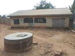 6 BEDROOMS OF 2 APARTMENTS AT NKAWKAW NSUTA