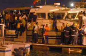 Ship sinks off South Africa; most of crew missing