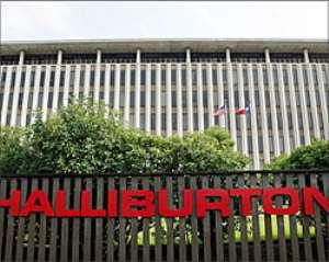 Halliburton accused of avoiding public