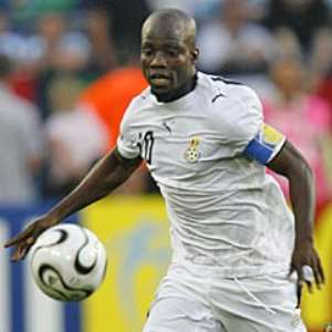 Stephen Appiah made his 50th appearance for the Black Stars last night
