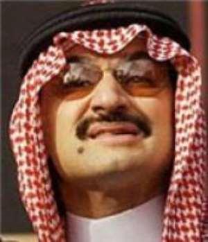 Saudi Prince donates $100,000 to Black Stars