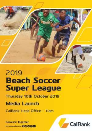 CAL Bank To Announce Sponsorship Renewal For Ghana Beach Soccer Association