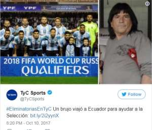 Argentina Reportedly Flew Sorcerer To Ecuador Ahead Of Pivotal World Cup Qualifier