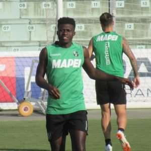 Sassuolo Midfielder Alfred Duncan Returns To Training After Injury Layoff