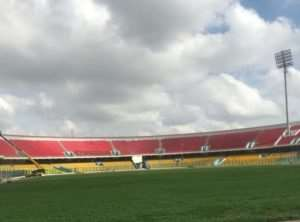 Accra Sports Stadium Pitch Ready For AWCON 2018