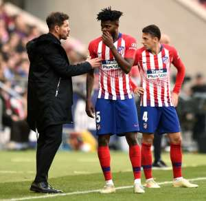 Thomas Partey Gives ATM More Direction - Diego Simeone