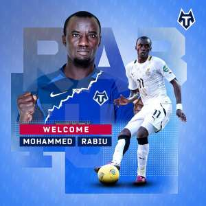 Rabiu Mohammed Joins FC Tambov On A 1-Year Deal