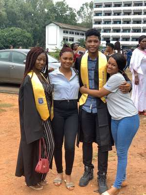 Actor Rahim Banda Matriculates At UG [Photos]