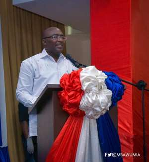2020 Election Is About Track Records And Who You Can Trust---Dr. Bawumia Insists