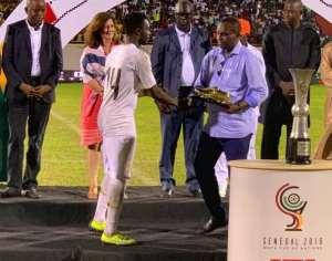 2019 WAFU Cup: Ghana Captain Shafiu Mumuni Wins Golden Boot Gong