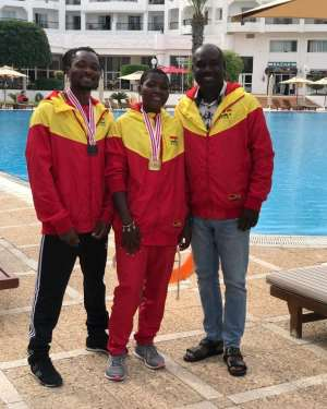 Ghana Shines In Rowing Competition
