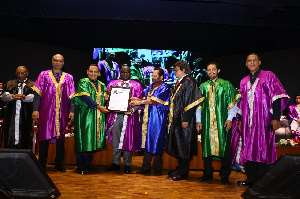 Ghana's High Commissioner To India Awarded Doctorate Degree
