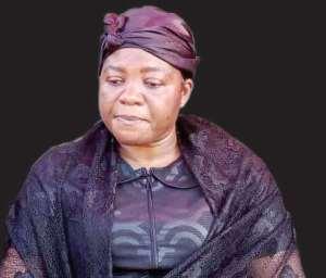 Mrs Ophelia Hayford, the wife of the deceased Mfantseman MP