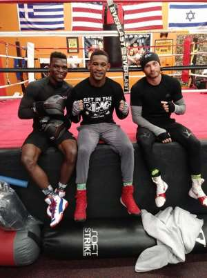 Richard Commey Steps Up Training Ahead of Roman Andreev Clash