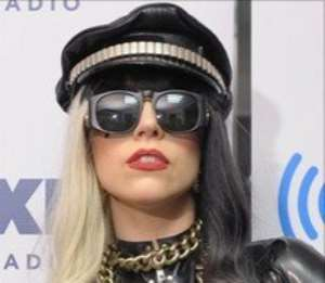 Lady Gaga falls off stage while dancing with fan during Las Vegas show