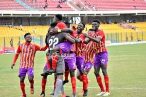 PHOTOS: Hearts of Oak Beat Great Olympics To Lift 2019 Homowo Cup