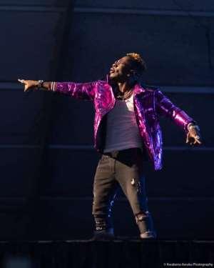 Shatta Wale (Wonder Boy) thrills his fans at Reign Concert19