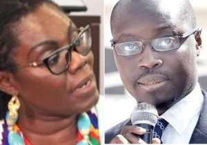 Ursula Owusu Jabs Ato Forson, I Won't Go To A Brothel For Moral Lessons