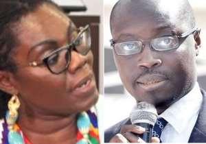 Ursula Owusu Jabs Ato Forson, I Won't Go To A Brothel For Moral Lessons