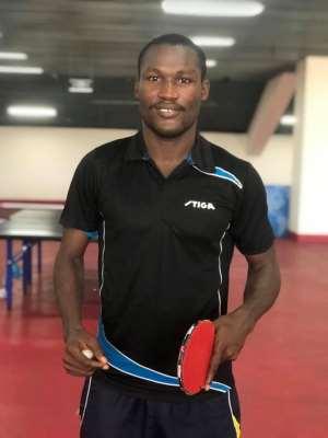 Emmanuel Commey Eyes 2019 SWAG Best Table Tennis Award