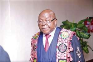 Prof. Mike Aaron Oquaye -Speaker of Parliament