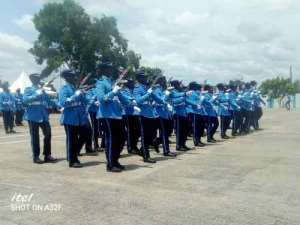 V/R: 222 GRA recruits pass out in Kpetoe