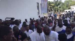 GFA Elections Watch The Arrival Of All The Presidential Aspirants [VIDEO]