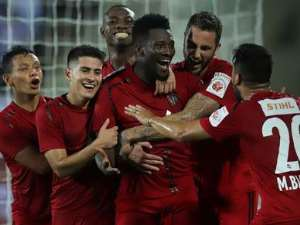 Asamoah Gyan Excited With His First Goal In Indian League
