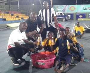 Accra Giants dominate MTN Skate Soccer League