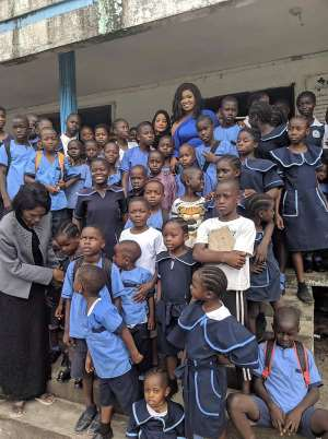 Minister Kabba Identifies With Orphans And Students
