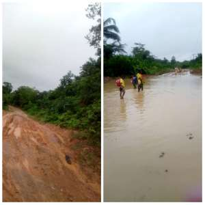Gov't To Begin Work On Deplorable Gwira Road