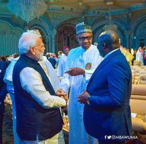 Prime Minister Modi and Mahamudu Bawumia