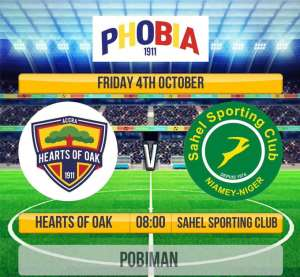 Hearts Line Up Friendly With Nigerian Giants Sahel SC On Friday
