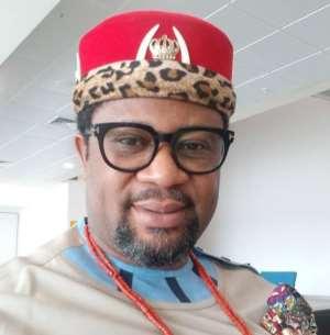 Dr. Chukwudi Jude Ihenetu (Eze Ndi Igbo, Ghana)