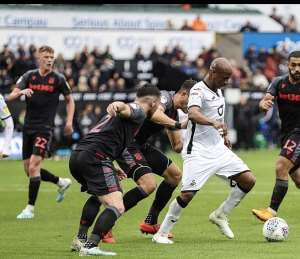Andre Ayew Charges Swansea City Teammates To Fight On After Stoke City Defeat