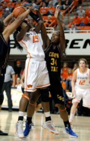 Image of the day: Cowgirls win first game