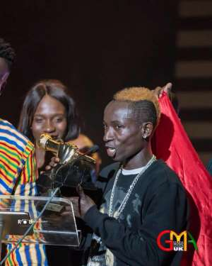 Ghana Music Awards UK 2018: Patapaa's 'One Corner' is Most Popular Song of the Year
