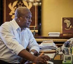 Flag-bearer of the NDC, John Dramani Mahama