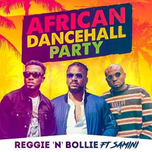 UK-based superstars Reggie N Bollie, release artwork for collabo with Samini