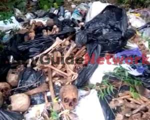 Human 'Bones' In 10 Big Bags Dumped At Refuse Site