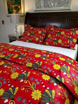 Will You Buy African Print Designed Bed Covers? Here Are Some Designs To Choose From