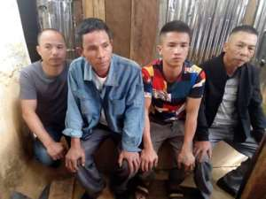 Four Chinese Illegal Miners Arrested At Nyinahin Kyekyewere