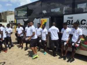 Black Stars Arrive In Cape Coast To Prepare For South Africa Clash