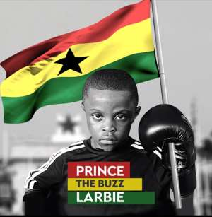 Prince 'The Buzz' Larbie Wants To Be Ghana's Youngest World Boxing Champion